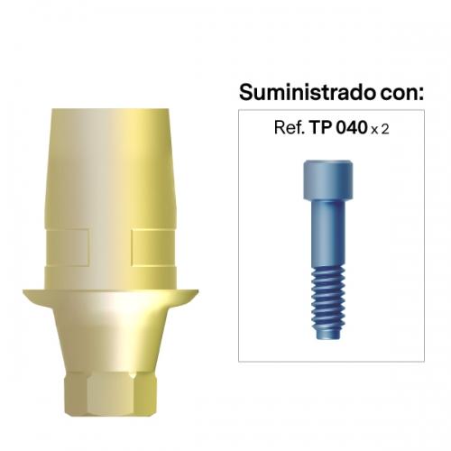Interfase compatible con el Sistema Cerec® Anti-Rotacional