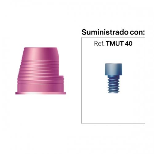 Interfase Rotacional para Multi-Posición Recto y Angulado Alt. 4mm