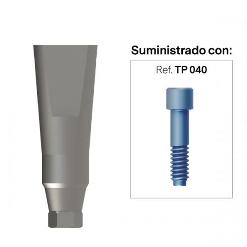 Pilar para escaneado directo a Implante (CI) Hexagonal