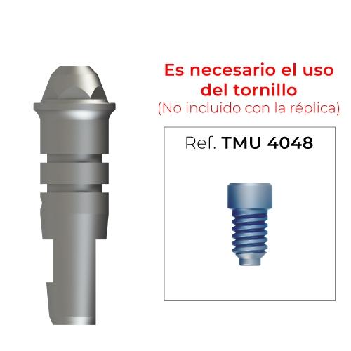 Réplica para pilar multi-posición (diámetro 4,8mm)